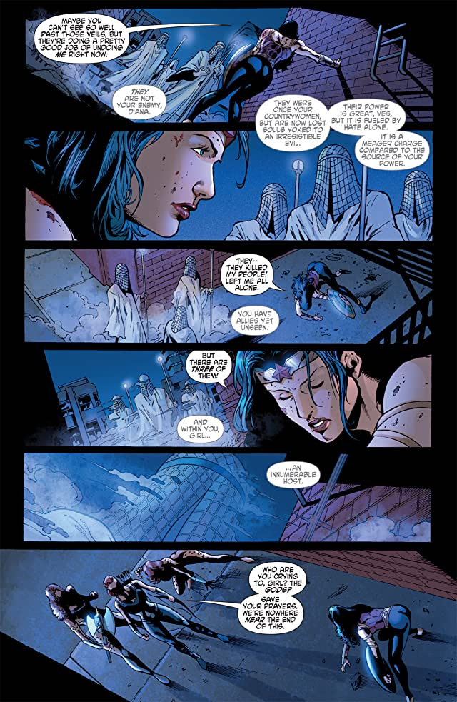 click for super-sized previews of Wonder Woman (2006-2011) #608