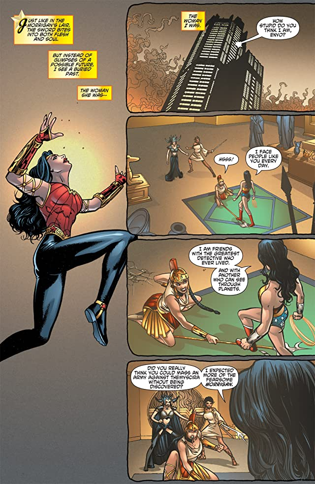 click for super-sized previews of Wonder Woman (2006-2011) #613