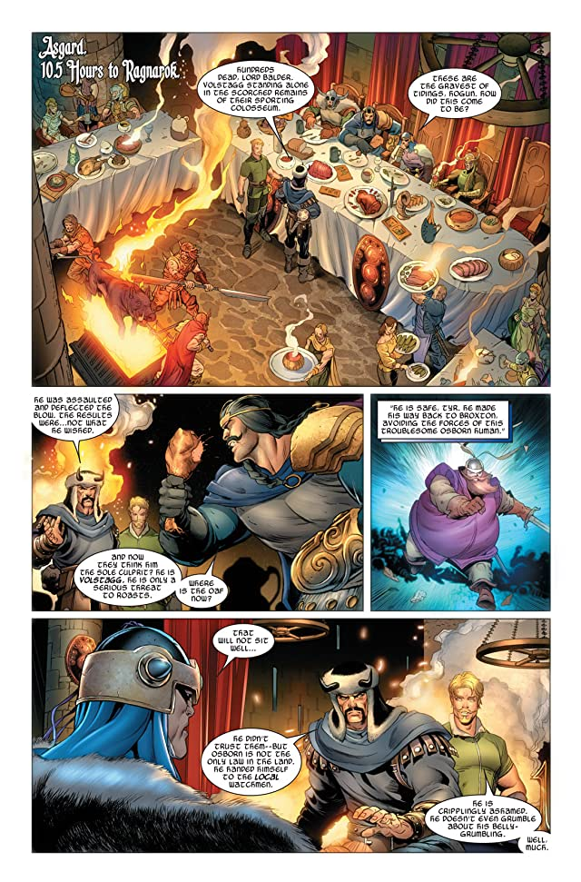 click for super-sized previews of Thor (2007-2011) #607
