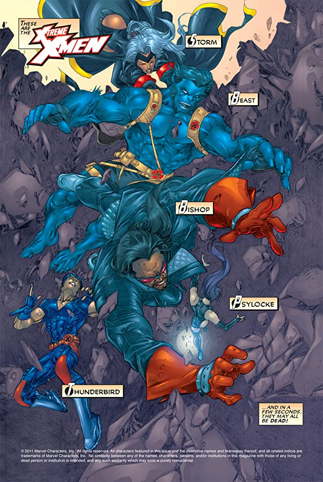 click for super-sized previews of X-Treme X-Men (2001-2003) #2