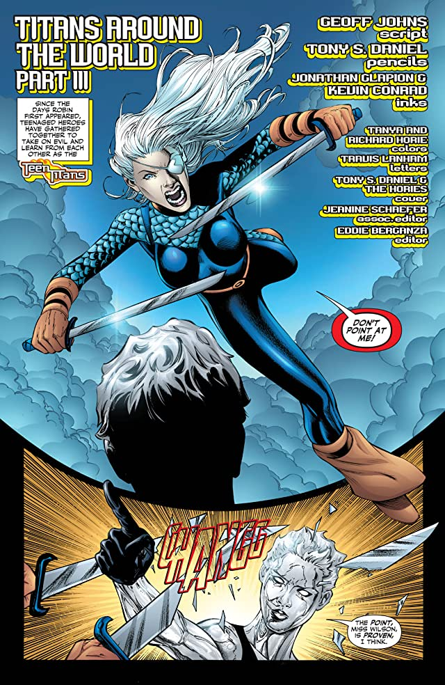 click for super-sized previews of Teen Titans (2003-2011) #40