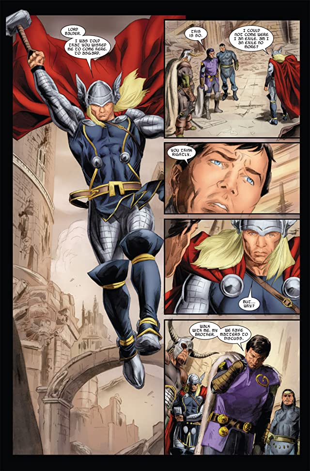 click for super-sized previews of Thor (2007-2011) #610