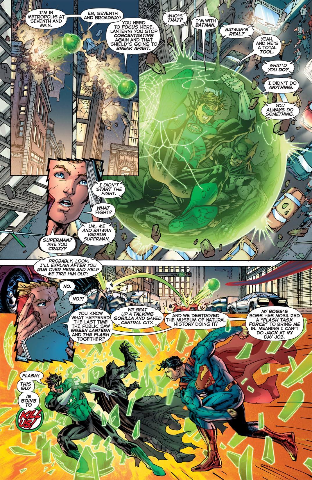 Justice League (2011-) #2