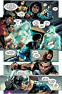 click for super-sized previews of Captain America Corps #4