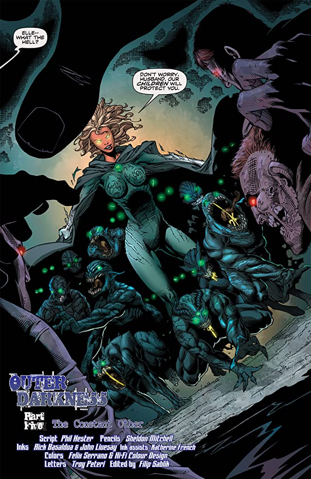 click for super-sized previews of The Darkness #94