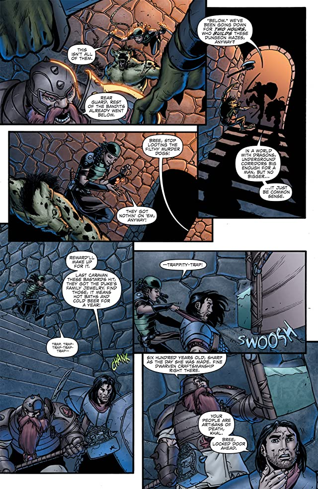 click for super-sized previews of Dungeons and Dragons #0