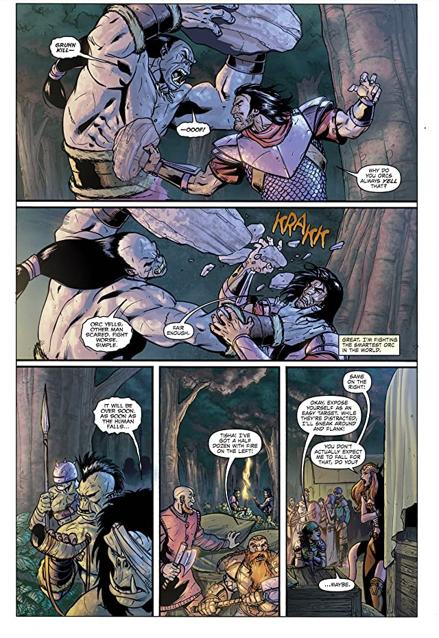 click for super-sized previews of Dungeons and Dragons #3