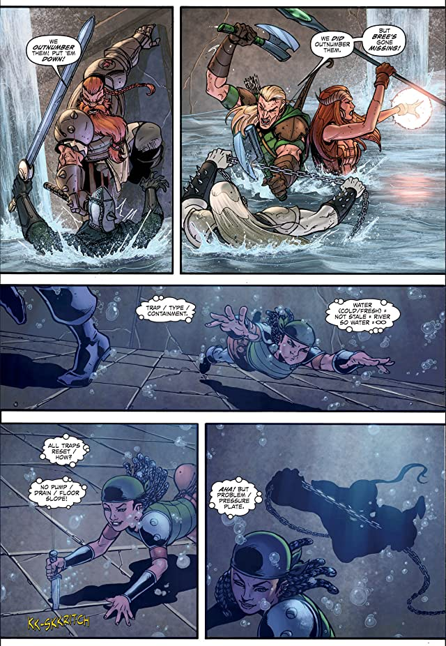 click for super-sized previews of Dungeons and Dragons #4