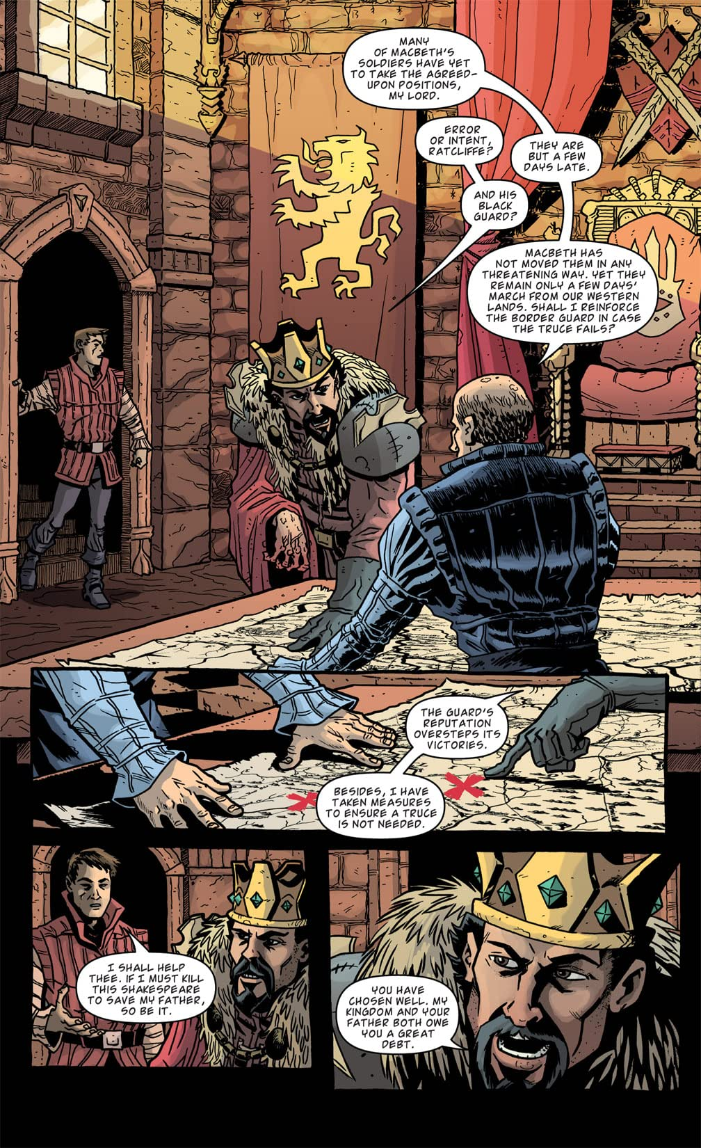 Kill Shakespeare #2 (of 12)