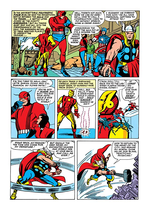 click for super-sized previews of Avengers (1963-1996) #5