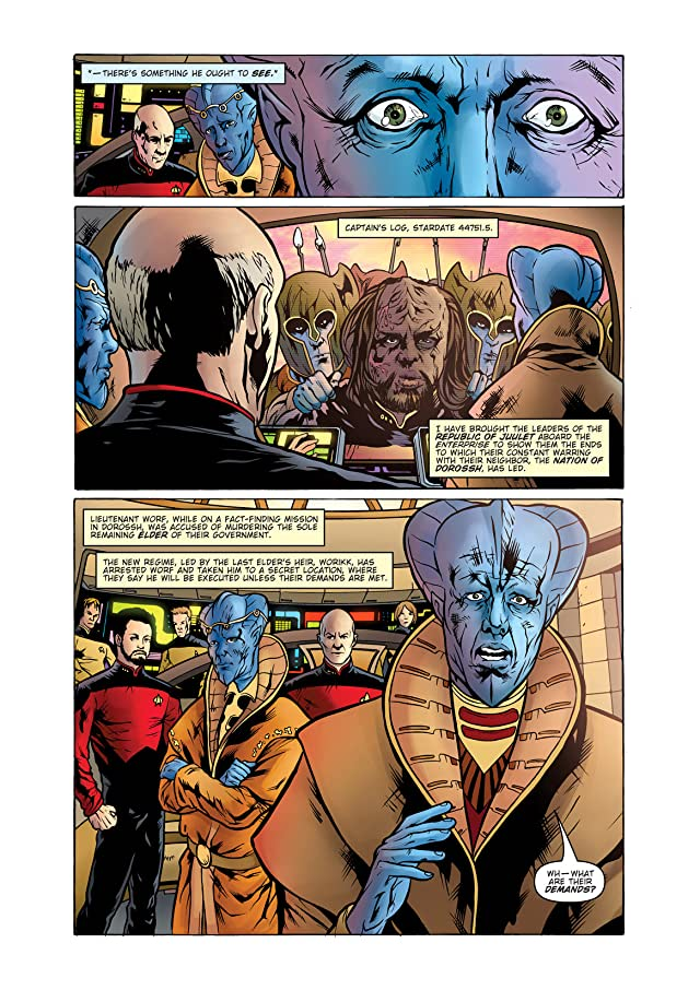 Star Trek: The Next Generation: Ghosts #3