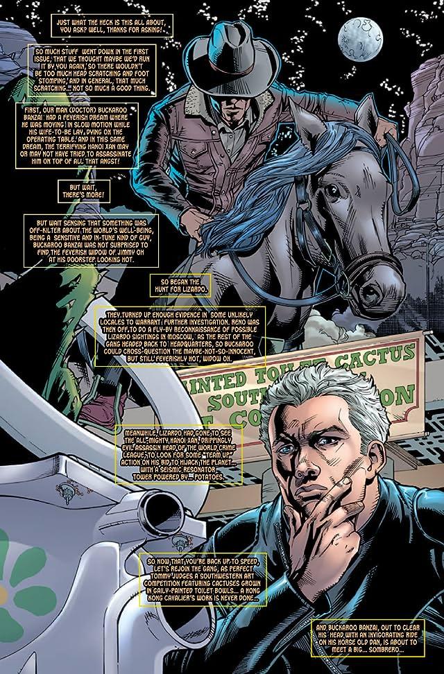 Buckaroo Banzai: Return of the Screw #2