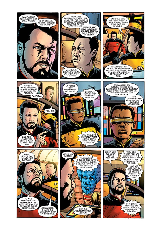 click for super-sized previews of Star Trek: The Next Generation: Ghosts #4