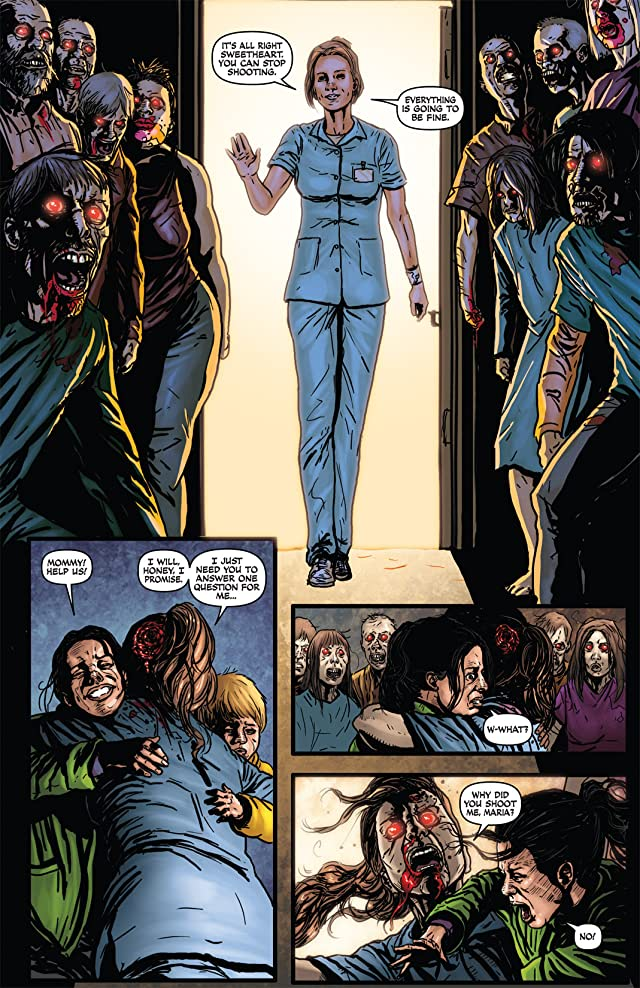 click for super-sized previews of Raise the Dead II #3