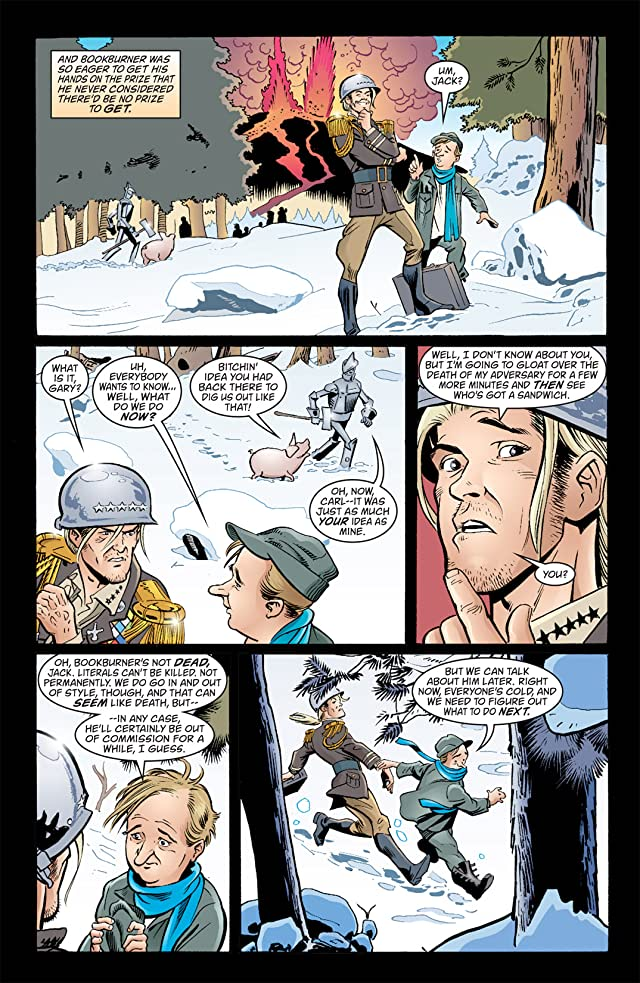 click for super-sized previews of Jack of Fables #32