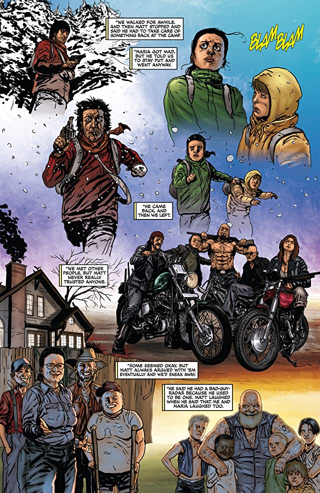 click for super-sized previews of Raise the Dead II #2