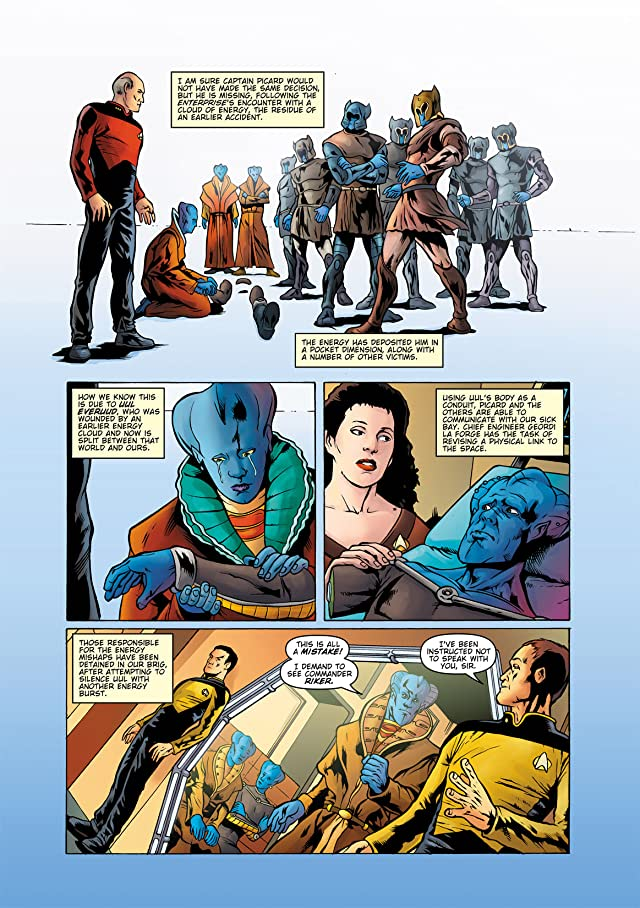 Star Trek: The Next Generation: Ghosts #5