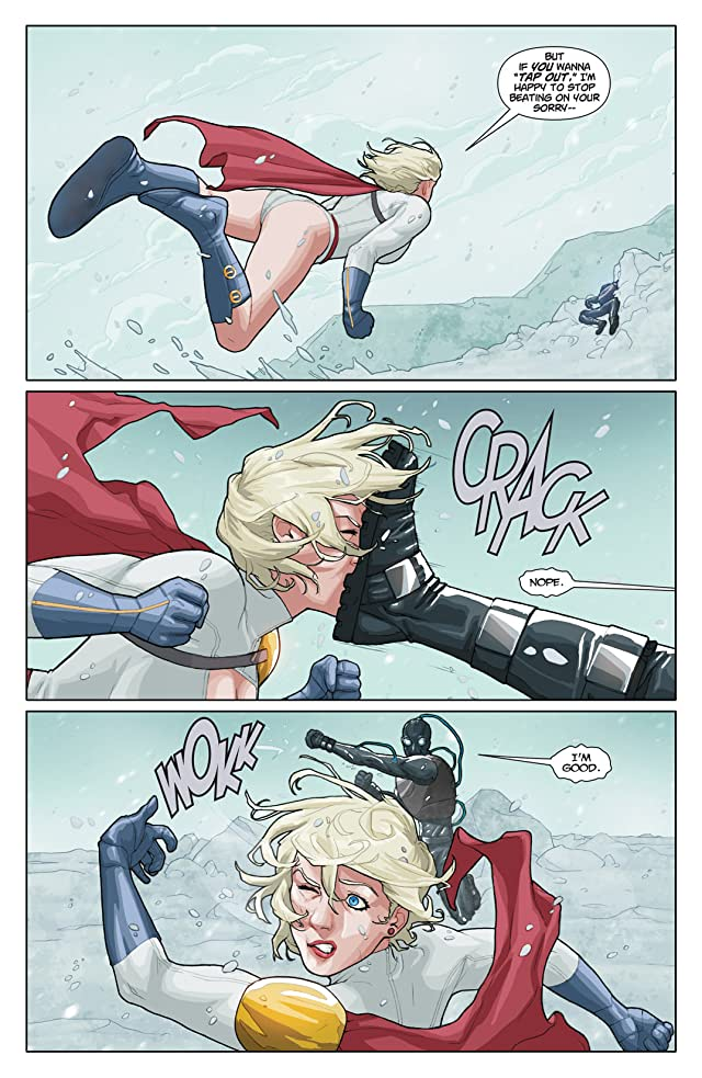 click for super-sized previews of Power Girl #16