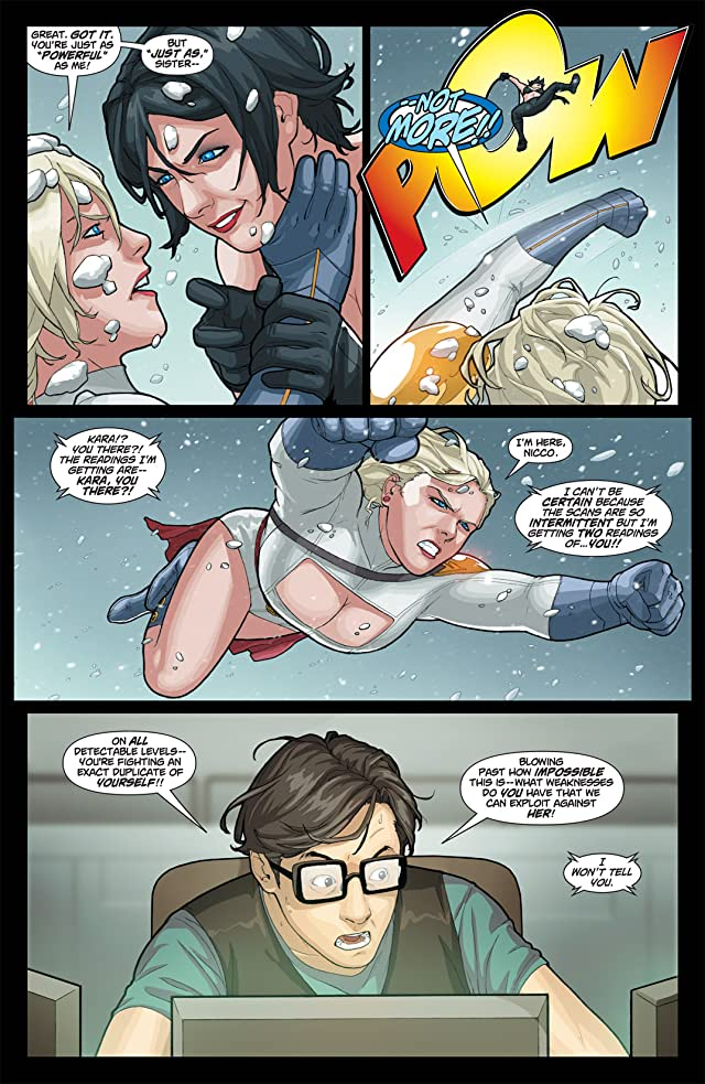 click for super-sized previews of Power Girl #18