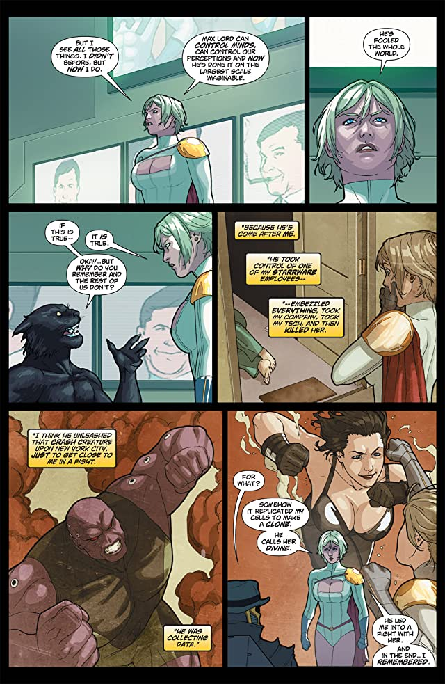 click for super-sized previews of Power Girl #19