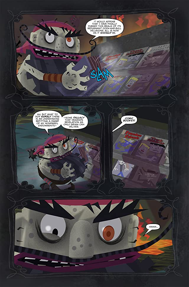 click for super-sized previews of American Mcgee's Grimm #1