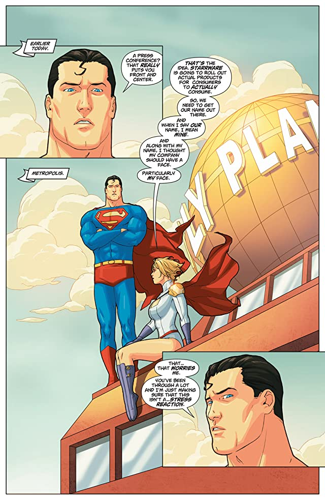 click for super-sized previews of Power Girl #22