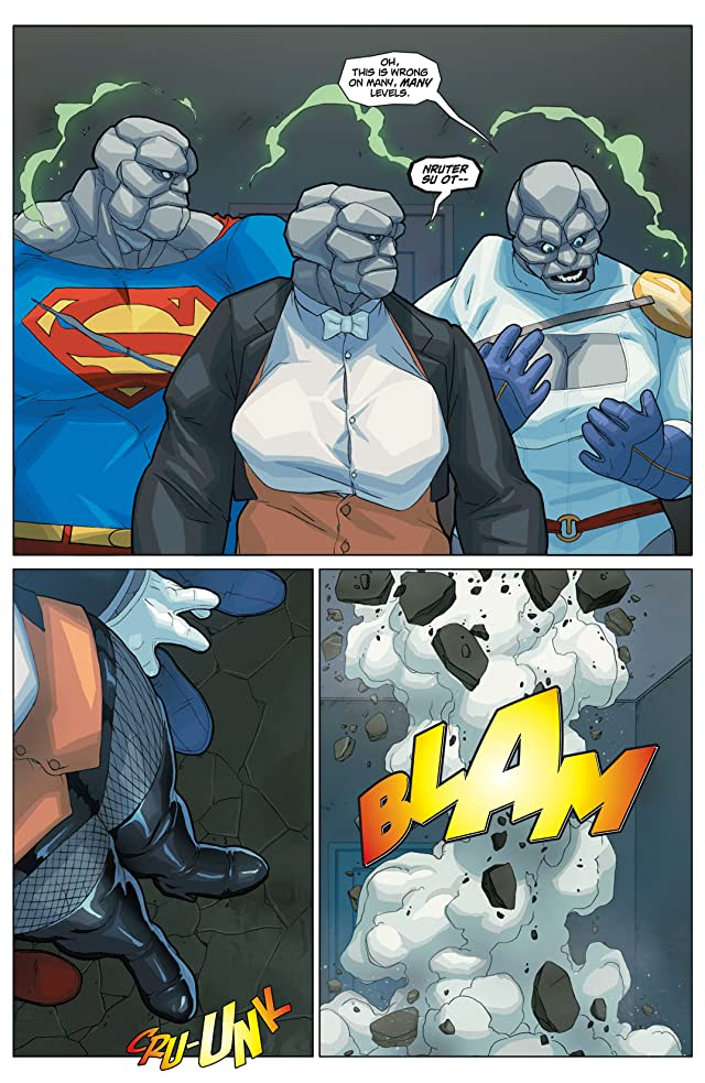 click for super-sized previews of Power Girl #23