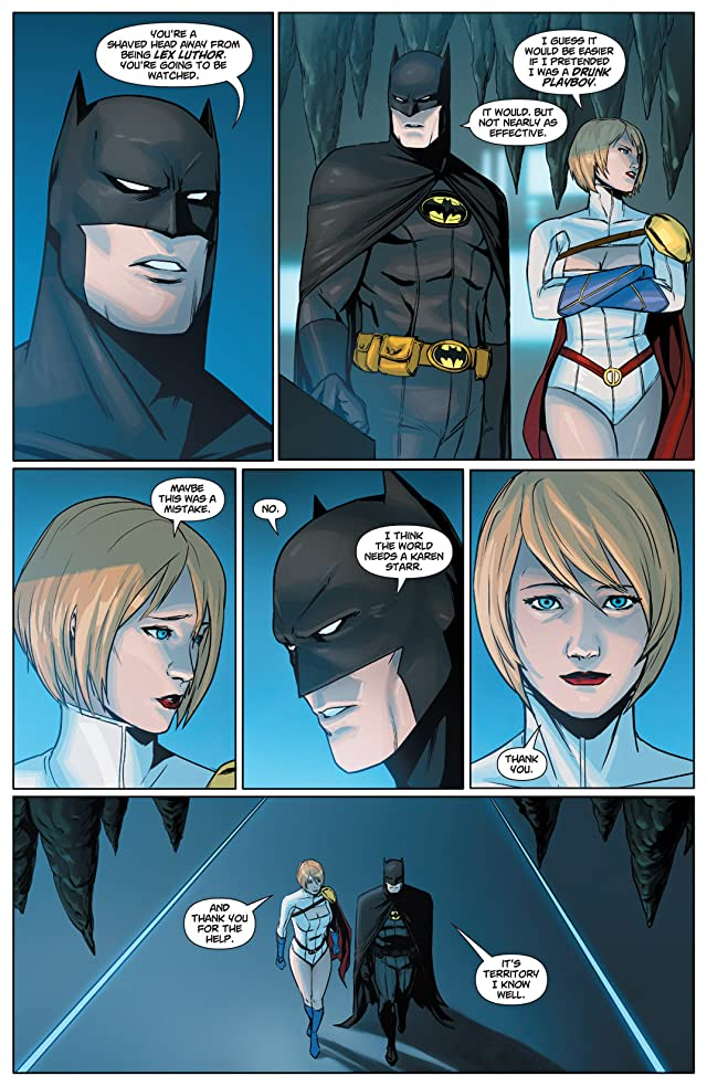 click for super-sized previews of Power Girl #24