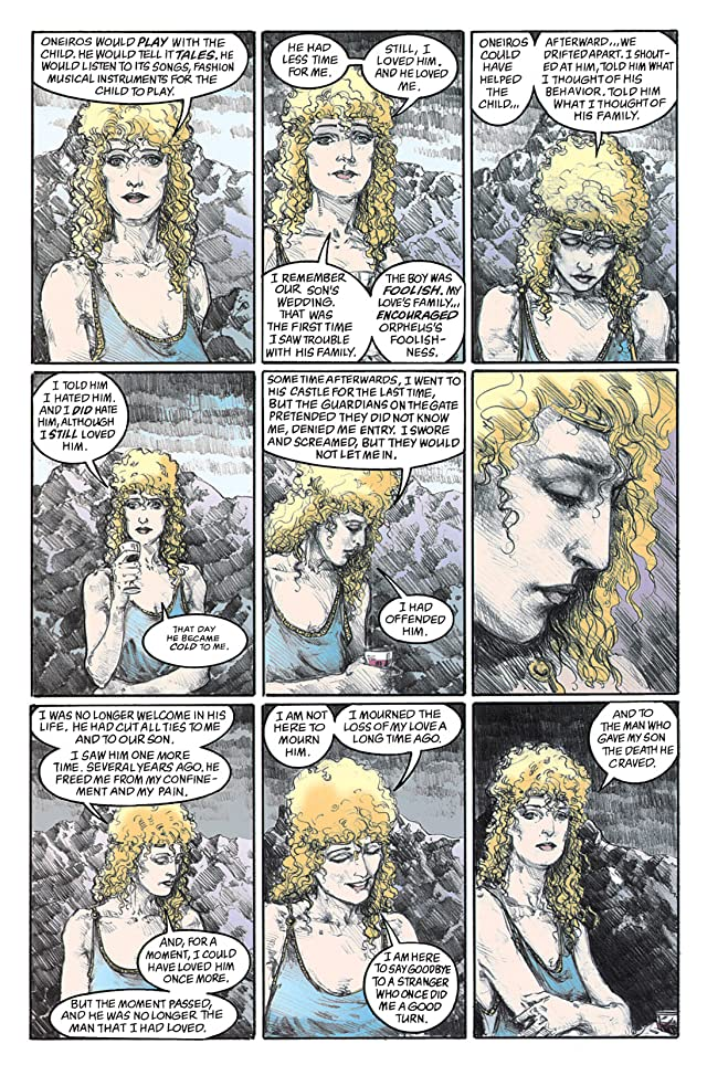 click for super-sized previews of The Sandman #71