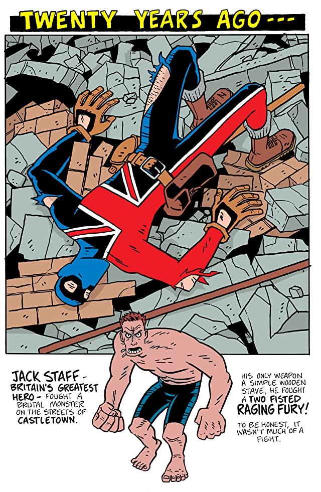click for super-sized previews of Jack Staff #2