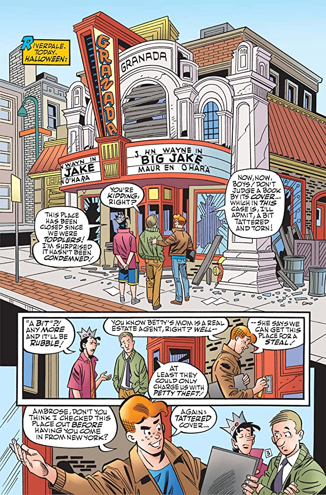 click for super-sized previews of Archie Marries Betty #14