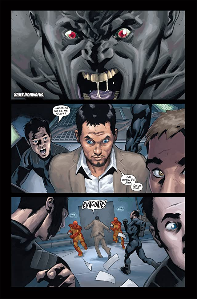 click for super-sized previews of Ultimate Human #2