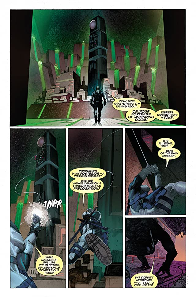 click for super-sized previews of Uncanny X-Force (2010-2012) #1