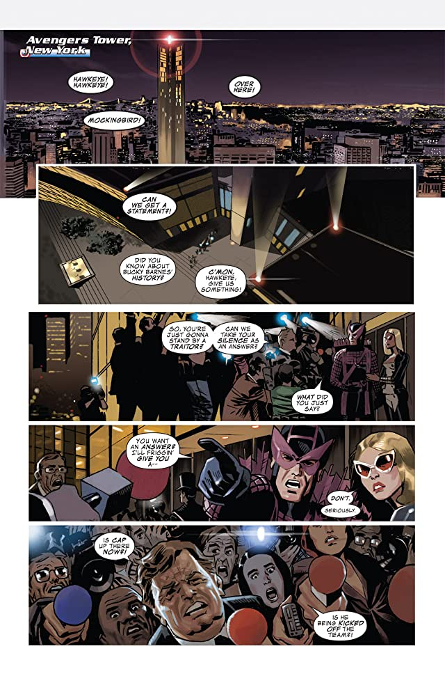 click for super-sized previews of Captain America (2004-2011) #611