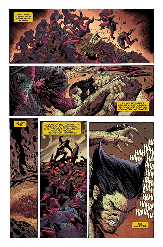 click for super-sized previews of Wolverine (2010-2012) #2