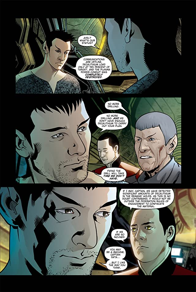 click for super-sized previews of Star Trek: Countdown #2