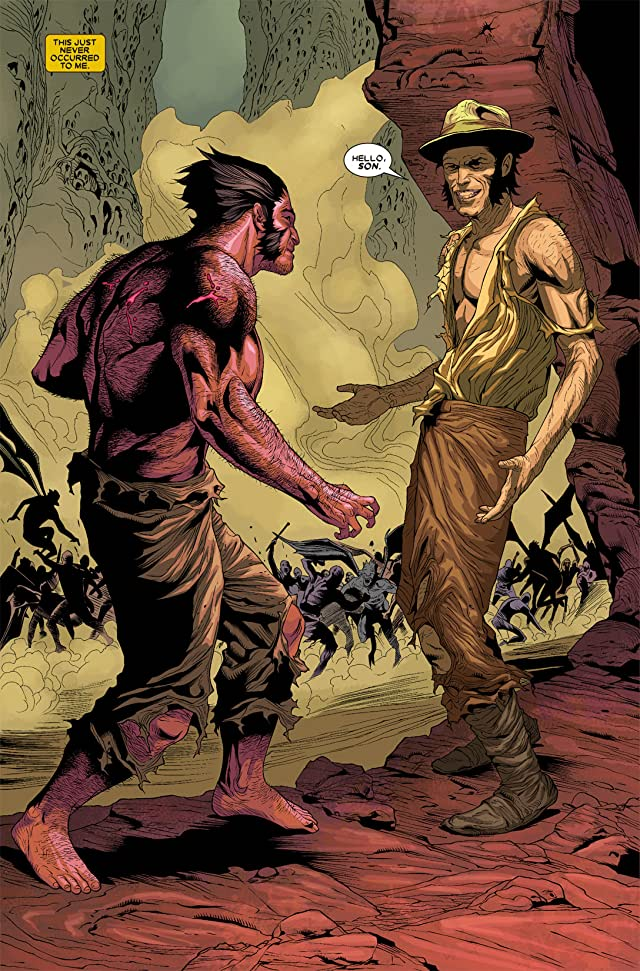 click for super-sized previews of Wolverine (2010-2012) #5