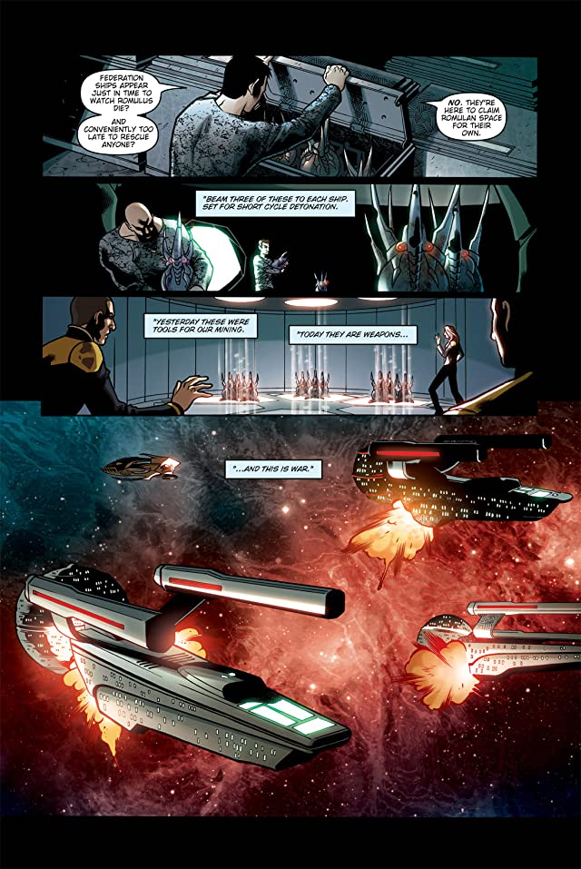 click for super-sized previews of Star Trek: Countdown #3