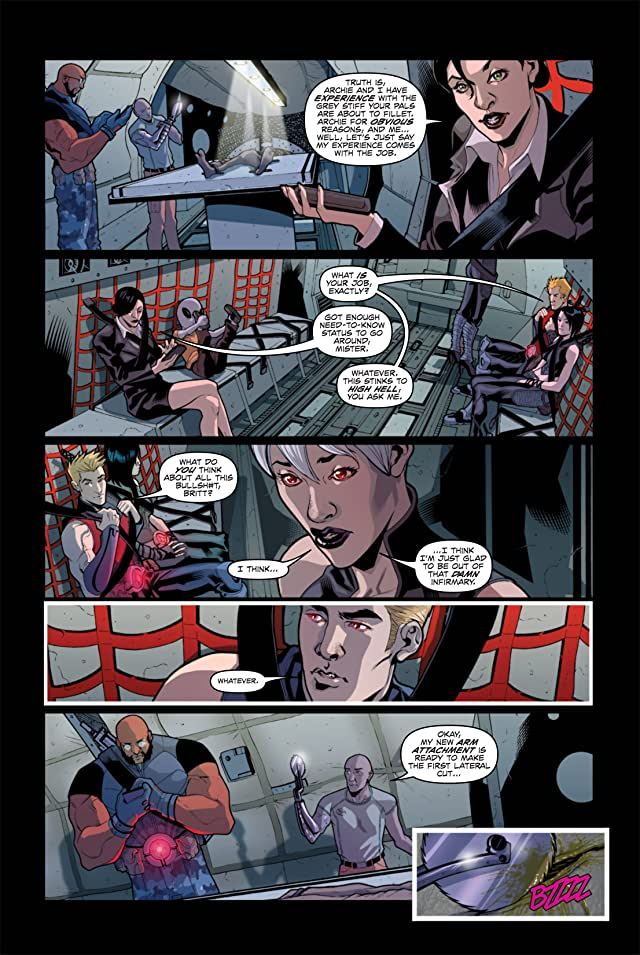 click for super-sized previews of Infestation: Outbreak #2 (of 4)