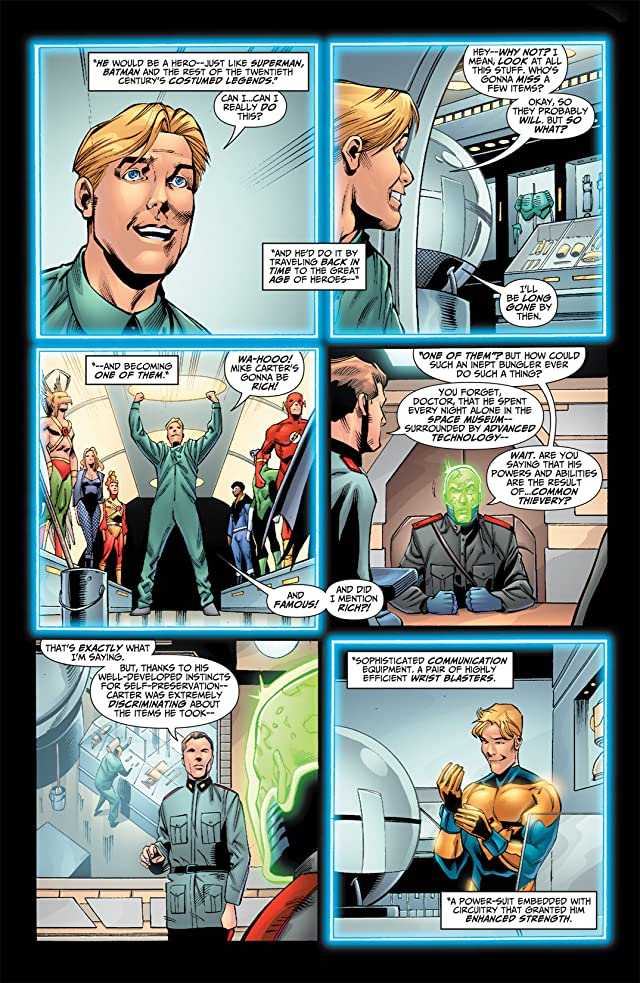 click for super-sized previews of Booster Gold (2007-2011) #40