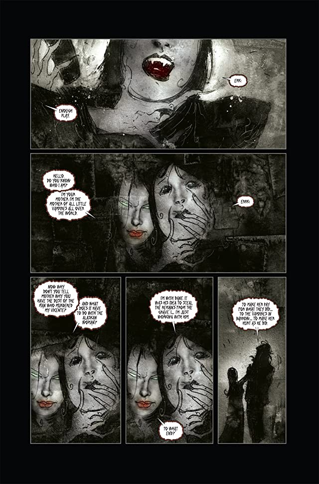 click for super-sized previews of 30 Days of Night: Dark Days #4