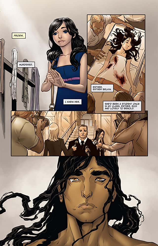 click for super-sized previews of Anne Rice's Servant of the Bones #1