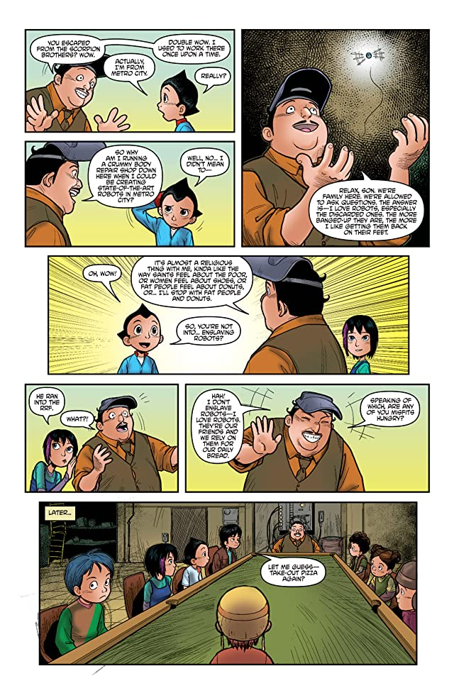 click for super-sized previews of Astro Boy: The Official Movie Adaptation #3