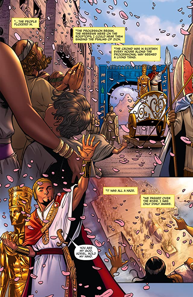 click for super-sized previews of Anne Rice's Servant of the Bones #3