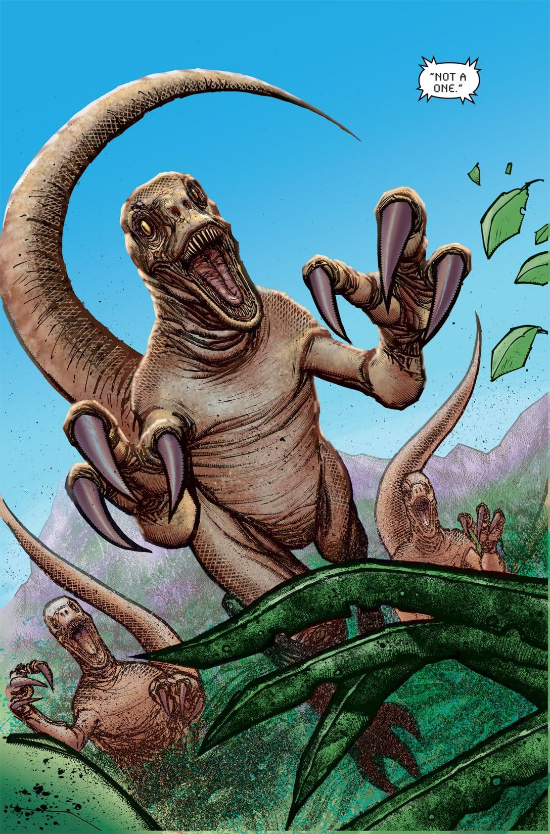 Jurassic Park: Redemption #1