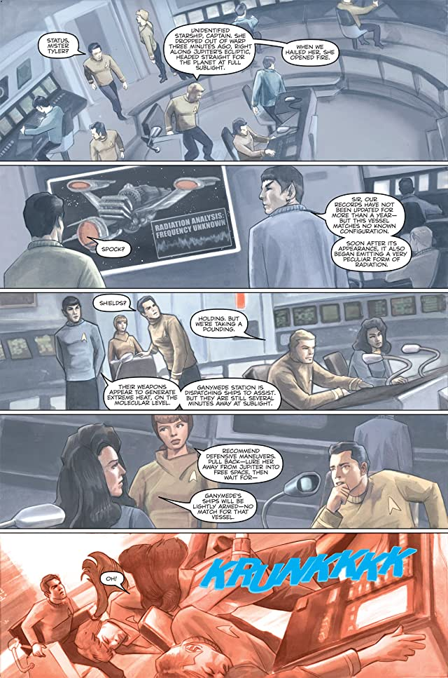 click for super-sized previews of Star Trek: Captain's Log #3: Pike