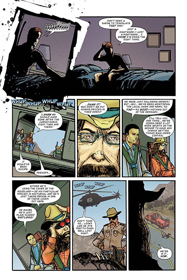 click for super-sized previews of Jurassic Park: Redemption #2
