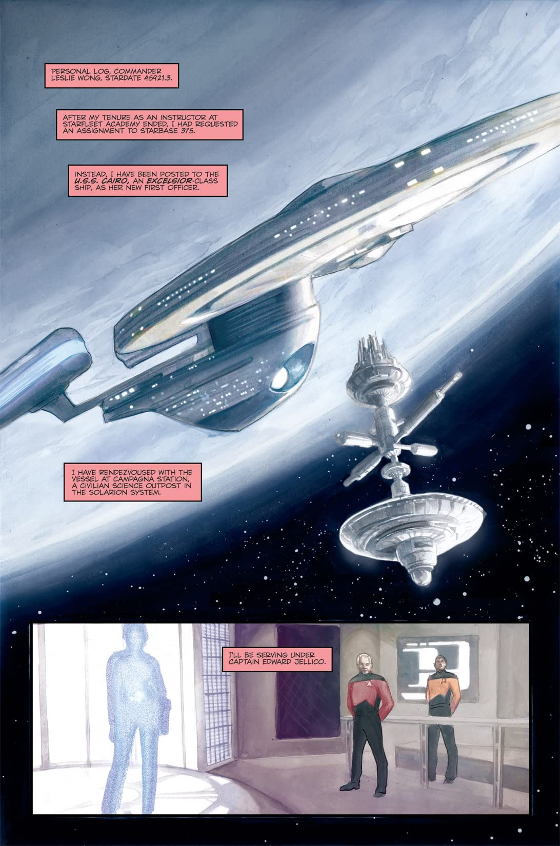 Star Trek: Captain's Log #4: Jellico