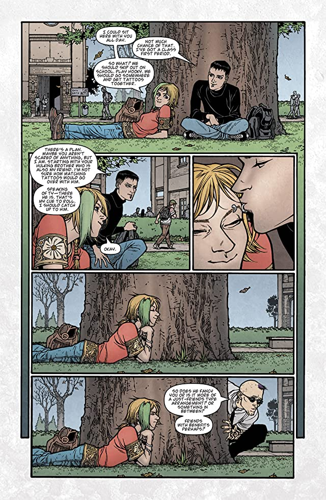 click for super-sized previews of Locke & Key: Crown of Shadows #2
