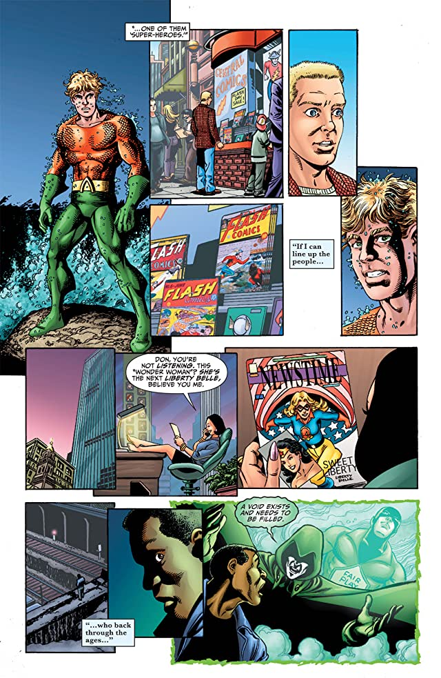 click for super-sized previews of Justice Society of America (2007-2011) #50